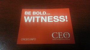 Get your Witness sticker!